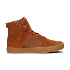 Supra Skytop Brown Red Gum hnědé 08173-239