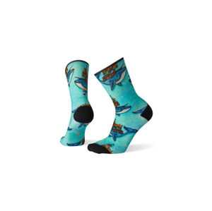 Smartwool Women´s Curated Crew Socks modré SW004055150