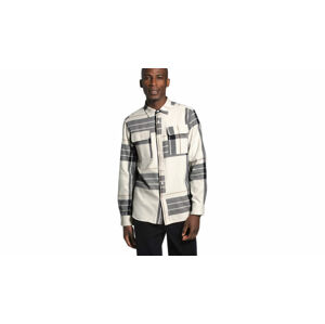 The North Face M Arroyo Flannel Vintage White bílé NF0A4QPJTX9
