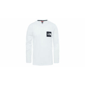 The North Face M Boruda L/S Tee Tnf White bílé NF0A4C9IFN4