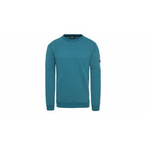 The North Face M Fine 2 Crew Sweat Blue Coral tyrkysové T93XXZEFS