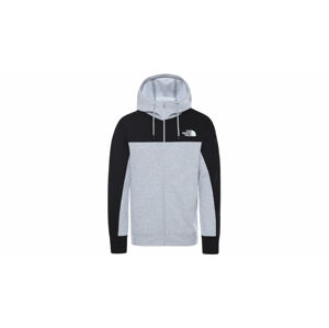 The North Face M Hmlyn Full Zip Hd Tnfltgyhr/Tnfbk šedé NF0A4SWMGAU