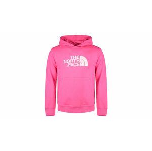 The North Face M Light Drew Peak Pullover Hoodie-Eu Mr. Pink růžové NF00A0TEWUG
