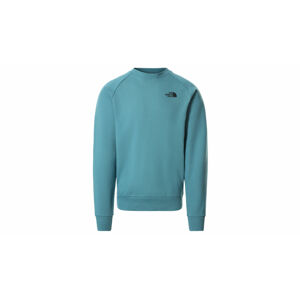 The North Face M Raglan Red Box Sweater tyrkysové NF0A4SZ94Y3
