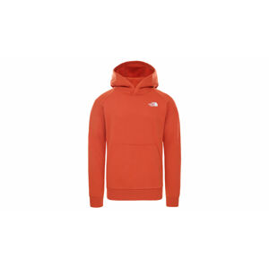 The North Face M Raglan Red Box Hd Burnt Ochre červené NF0A2ZWUEMJ