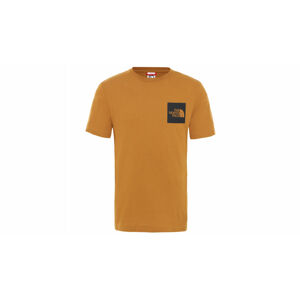 The North Face M S/S Fine Tee Timber Tan hnědé NF00CEQ5VC7