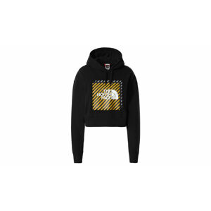The North Face W Coord Crop Hoodie černé NF0A5ICPJK3