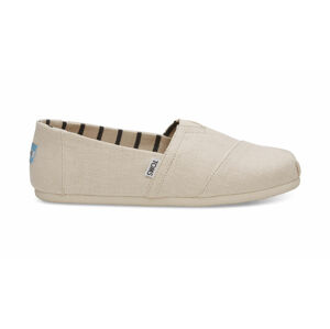 Toms Antique White Heritage Canvas Alpargatas šedé 10011708