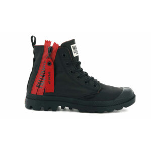 Palladium Boots Pampa Unzipped Black černé 76443-008-M