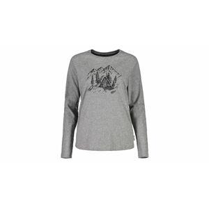 Maloja T-Shirt Valler Grey Melange  šedé 28408-1-7096