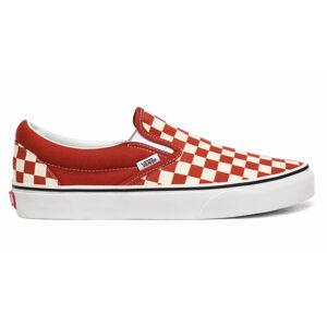 Vans Ua Classic Slip-On (Checkerboard)Picnt/Trwht červené VN0A4U38WS2