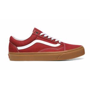 Vans Ua Old Skool (Gum) Rosewood/True White červené VN0A4U3BWZ0