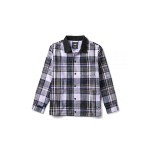 Vans X Anderson Paak Plaid Reversible chore coat MN modré VN0A5FFT4481