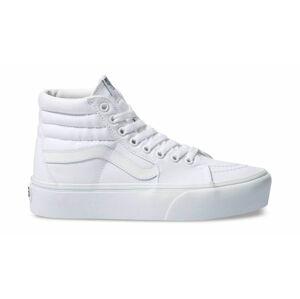 Vans Ua Sk8-Hi Platform 2.0 True White/True White bílé VN0A3TKNQLZ