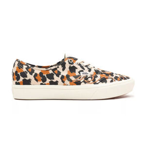 Vans Ua Comfycush Authentic Leopard/Marshmallow hnědé VN0A3WM747B