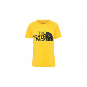 The North Face W Graphic Play Hard T-Shirt žluté NF0A3YHK