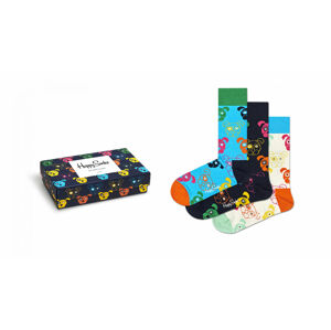 Happy Socks 3-Pack Mixed Dog Socks Gift Set Multicolor XDOG08-0100
